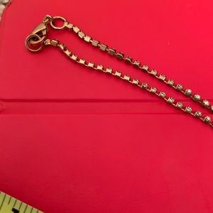 Charming Charlie Jewelry - Charming Charlie gold long necklace with pearls
